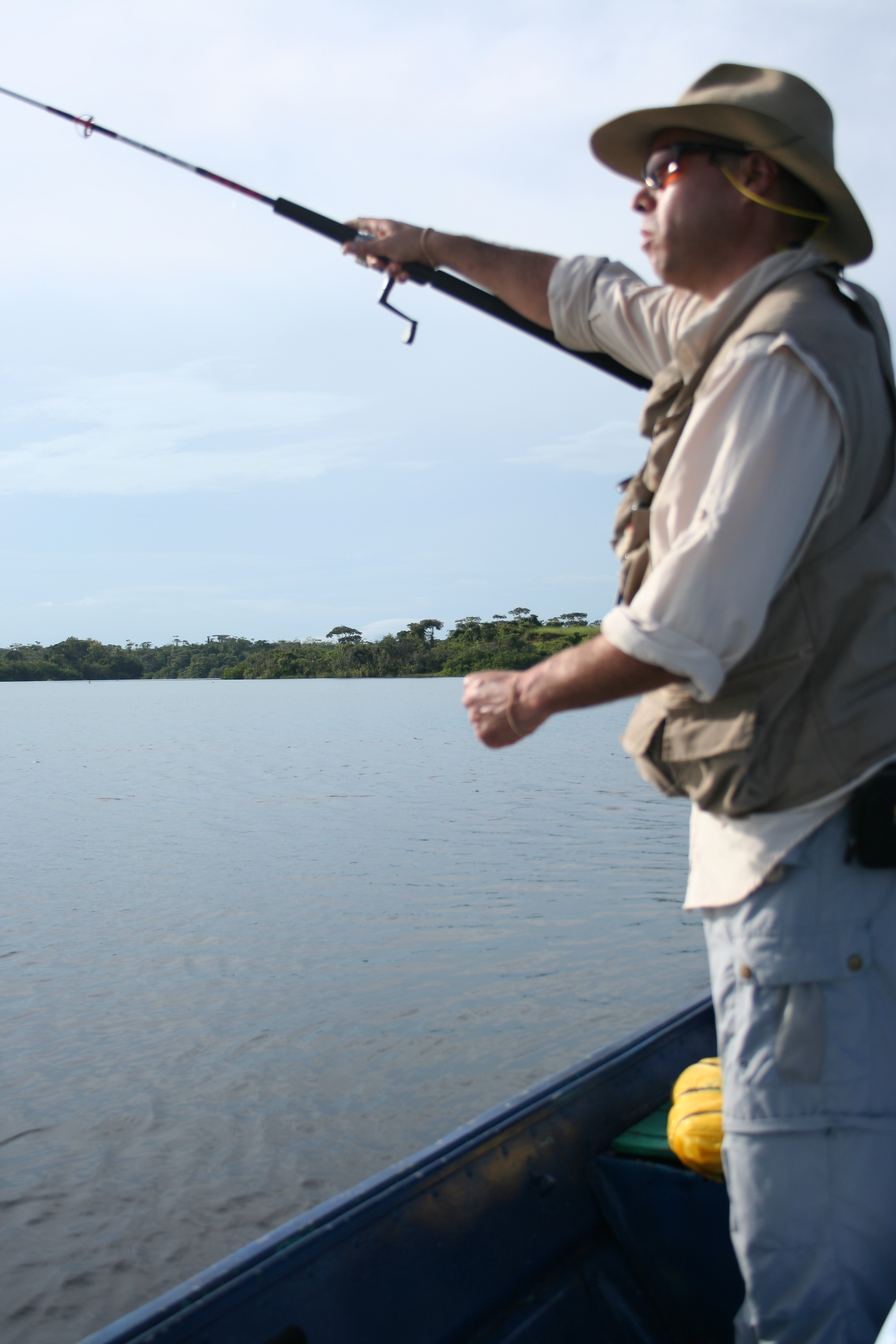 Fishing at Gatun Lake